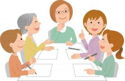 介護施設での会議