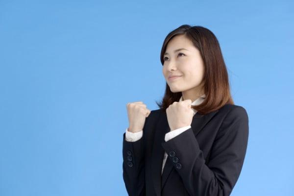 介護転職を頑張る女性